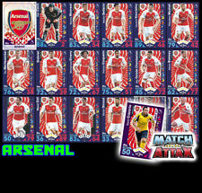 Arsenal Football Trading Cards 2017 Season