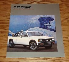 Original 1988 Chevrolet Truck S-10 Pickup Sales Brochure 88 Chevy