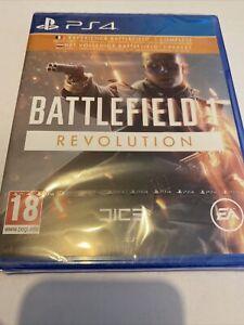 Game PLAYSTATION 4 ps4 ps5 5 New Blister Battlefield 1 Revolution War ✅