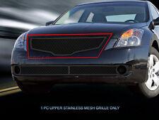Upper Dual Weave Mesh Grille Insert For Nissan Altima Sedan 2007 2008 2009