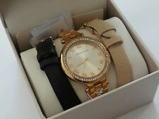 Adrienne Vittadini Women's Rose Gold Stainless Steel Watch SALE Free Shipping