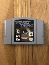 Perfect Dark (Nintendo 64, 2000) Excellent Condition Complete Game