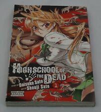 High school of the Dead book 1 manga in English