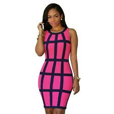 Women Gown Party Dress Laides Bandage Bodycon Cocktail Clubwear Pencil Dress New