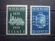NVPH  325-326  Spoorweg Jubileum-zegels  1939  ongebruikt
