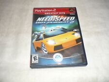 Need for Speed: Hot Pursuit 2 (Sony PlayStation 2, 2002)  COMPELTE