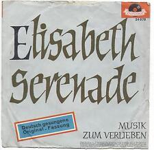 Günter kallmann Chor : Elisabeth-Serenade + Musik zum verlieben