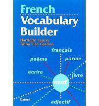 Very Good, French vocabulary builder, Lanzer, Harriete;, Book