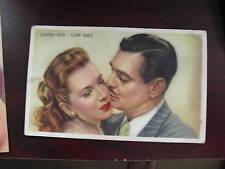 Vintage Movie Photo Card Kwatta Kerr and Clark Gable