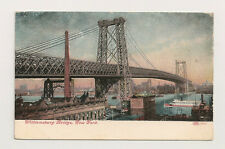 NEW YORK CITY NY Williamsburg Bridge, Circa 1908