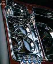 Kenworth W900 T800 T660 C500 2006+ Chrome Left Dash Gauge Panel Outer Trim