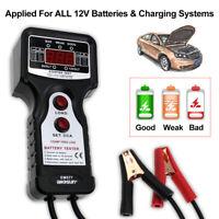 6V-12V Digital Battery Load Tester Automotive Battery Tester 300-1000 CCA LEDs