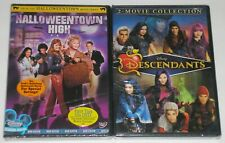 Disney DVD Lot - Halloweentown High (New) Descendants & Descendants 2 (New)
