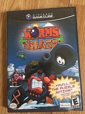 Worms Blast Nintendo GameCube Game Tested Works BA3