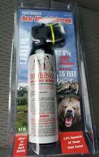 Sabre Frontiersman Bear Spray 9.2oz Maximum Strength 35' Range - Free Shipping