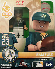 Sam Flud OYO Oakland A's Athletics MLB Mini Figure NEW G3