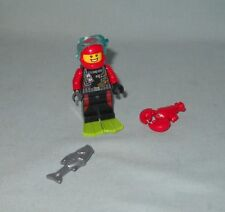 NEW LEGO DIVER MINIFIGURE WITH LOBSTER & FISH FROM 60153 FUN AT THE BEACH