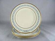Syracuse Old Ivory Cobalt Blue Gold Wayne Bread Plates sold in sets of 4