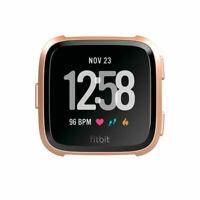 Fitbit Versa Fitness GPS Smartwatch - Rose-Gold Aluminium (FB504RGPK) GRADE C
