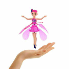 Induction Infrared Flying Fairy Doll House Gift Magic Toys Princess Pink