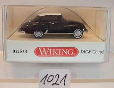 Wiking 1/87 0125 01 DKW Coupe Nero/Bianco OVP #1021