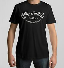Martin Guitars style  T-Shirt design. Various Sizes