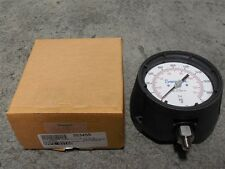 """NIB Swagelok S//S Pressure Gauge P//N PGI-100S-OG1000-LAPX 1000 PSI 1//2/"""" NPT"""