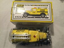 Liberty Classics DEIST SAFETY Fire Tanker Truck Coin Bank Eastwood
