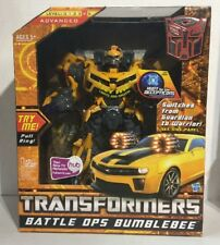 TRANSFORMERS BATTLE OPS BUMBLEBEE ELECTRONIC LIGHTS & SOUNDS MINT IN BOX