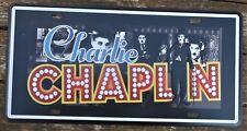 Charlie Chaplin latta segni metallo PLACCA PUB RISTORANTE CLUB