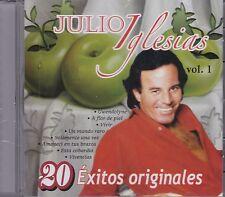 Julio Iglesias Vol 1 CD 20 Exitos Originales CD New Sealed Nuevo