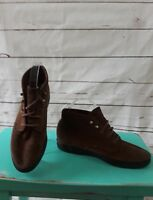 Keds Brown Suede Leather Lace-Up Ankle Chukka Boots Women's Size 6.5