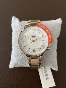 Fossil Hybrid Smartwatch Damen Neu!! Gold