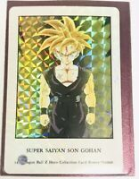 Dragonball DBZ Hero Collection Ultra Rare UR Card Prism Holo Gohan Carddass 1995