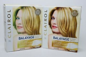 2 Clairol Balayage Highlights for Blondes Light to Dark Blonde w/Conditioner New