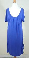 George Viscose Patternless Midi Dresses for Women