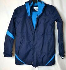 Columbia Omni-Tex Navy/Blue Interchange  2 In 1 Fleece  Youth Sz. L Jacket