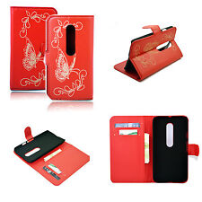 Card ID Leather Stand Flip Case Cover For Motorola Moto G3 Moto G 3rd Gen 2015