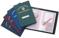 Porta Carta D'identità Custodia Documento In Plastica Con Display Protezione dfh