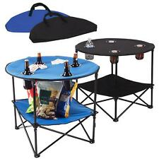 More details for portable folding camping table outdoor garden picnics camping fishing bbq table