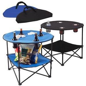 Portable Folding Camping Table Outdoor Garden Picnics Camping Fishing BBQ Table