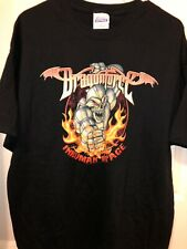NEW Dragonforce Heavy Metal Band T Shirt - Inhuman Rampage 2007 Tour Size XL