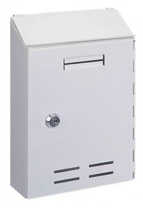 Interior Blanco Correo Caja Pro Primero 500 Buzón