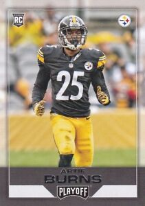 2016 Panini Playoff Football, Artie Burns, (Rookie), #225