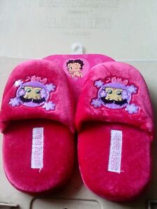 Betty boop slippers size 13/1 new