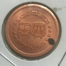 Atlanta Georgia GA Blazing MARTA 1996 Paralympic Games Transportation Token