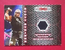 2008 TRISTAR TNA #AA-SS SCOTT STEINER AUTHENTIC ACTION MEMORABILIA #059/250