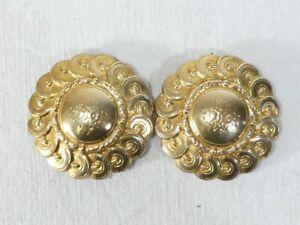 Boucle de Cape ou Ceinture en metal doré