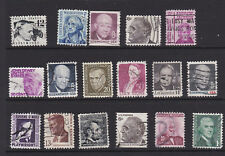 USA 1965 Prominent Americans PART SET USED