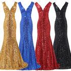 ElegantLong Mermaid Prom Pageant Graduation Evening Formal Gown Bridesmaid Dress